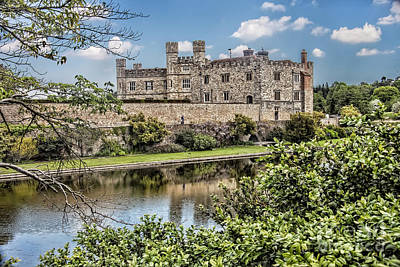 Photograph - Leeds Castle, Uk by Shirley Mangini