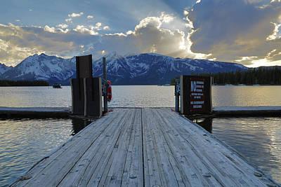 Photograph - Leeks Marina Sunset by Dan Sproul