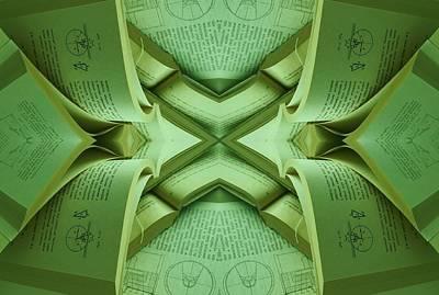 Concentration Digital Art - Left Brain Dance by Anna Lis