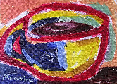 Painting - Left Handed Cup by Nancy Rourke