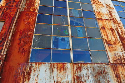 Photograph - Left To Rust by Randi Grace Nilsberg