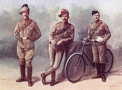 Left. Trooper Of The South African Art Print by Vintage Design Pics