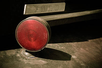 Photograph - Left Turn Signal by Marilyn Hunt