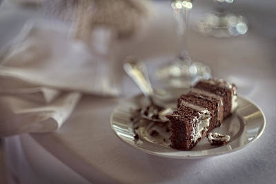 Photograph - Leftover Wedding Cake by Rick Berk
