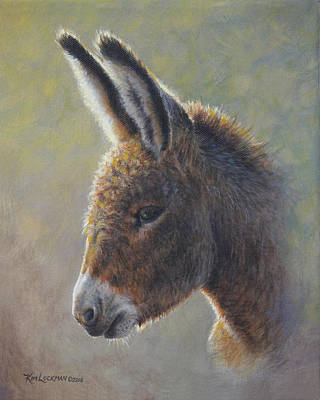 Painting - Lefty by Kim Lockman