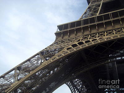 Leg Of Paris Art Print