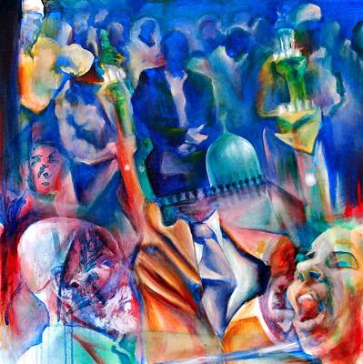 Legacies Of Resistance Print by Khalid Hussein