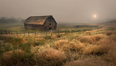 Photograph - Legacy - Haynes Ranch Barn by John Poon