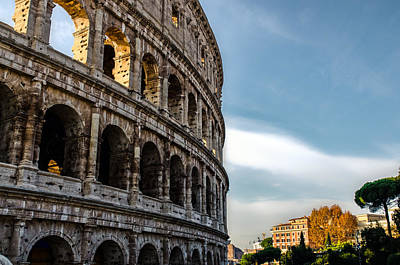 Legacy Of History - Colosseum Art Print by Andrea Mazzocchetti