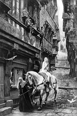 Lady Godiva Photograph - Legend Of Lady Godiva, 11th Century by Science Source