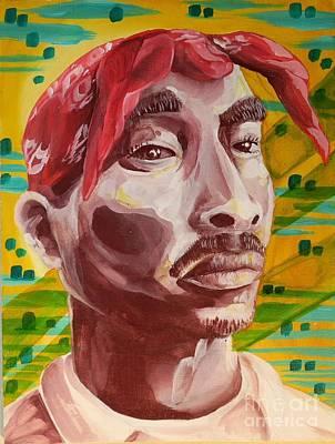 Hiphop Painting - Legend Study by Ruben Jimenz