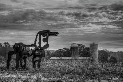 Photograph - Legendary Iron Horse The Iron Horse Collection Art  by Reid Callaway