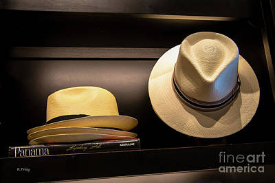 Photograph - Legendary Panama Hats by Rene Triay Photography