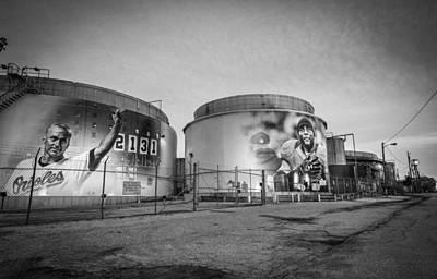 Cal Ripken Photograph - Legends by Daniel Hart