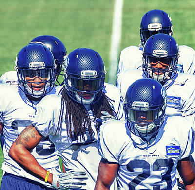 Photograph - Legion Of Boom by Jason Butts