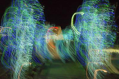 Photograph - Legions Of Sprits Dancing In Concert by Douglas Barnett