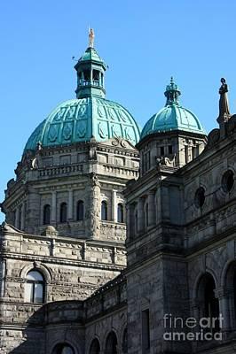 Photograph - Legislature Dome by Frank Townsley