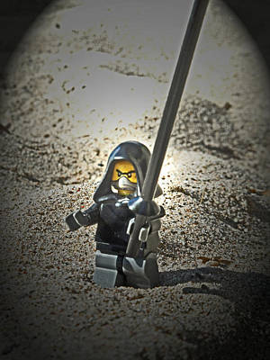 Musical Influence Photograph - Lego Ninja by Cyryn Fyrcyd
