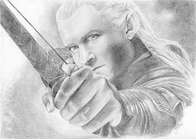 Legolas Greenleaf Original by Bitten Kari