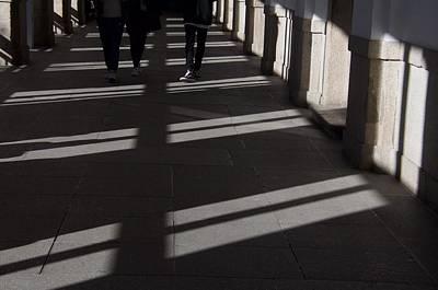 Photograph - Legs And Shadows by David Resnikoff