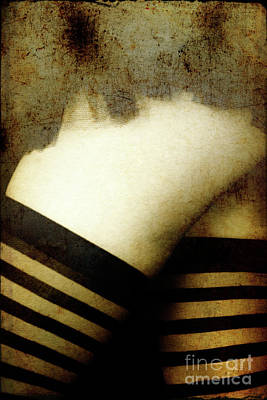Photograph - Legs And Stockings by Clayton Bastiani