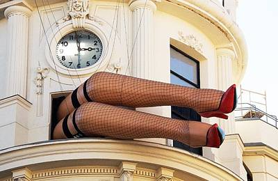 Photograph - Legs by David Resnikoff