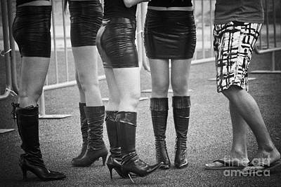 Photograph - Skirts And Boots by Hans Janssen