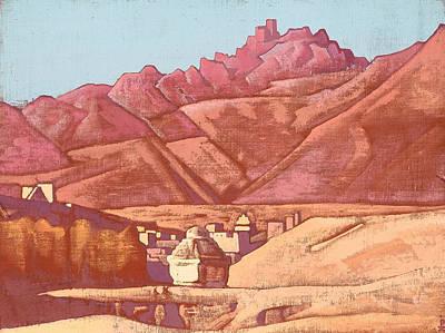 House Painting - Leh, Ladakh by Nicholas Roerich