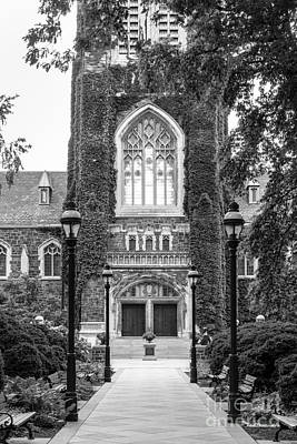Entryway Photograph - Lehigh University Memorial Walk by University Icons