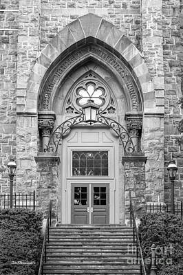 Lehigh Photograph - Lehigh University Center Doorway by University Icons