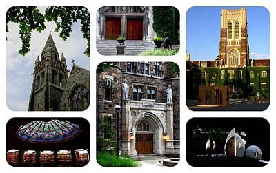 Photograph - Lehigh University Composite Horizontal by Jacqueline M Lewis