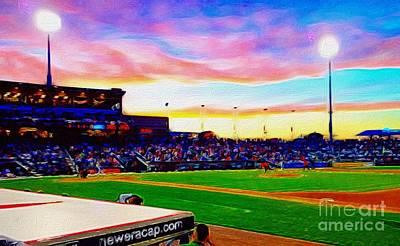 Baseball. Philadelphia Phillies Digital Art - Lehigh Valley Baseball by Josh Laff
