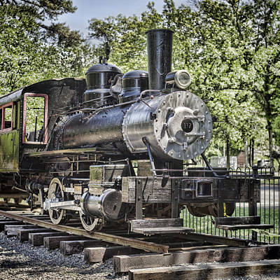 Photograph - Lehigh Valley Coal Company Locomotive by Heather Applegate