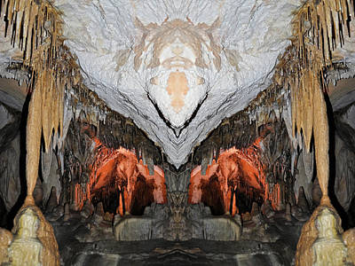 Photograph - Lehman Caves Mirror by Kyle Hanson