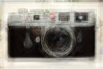 Leica Art Print by Denis Bouchard