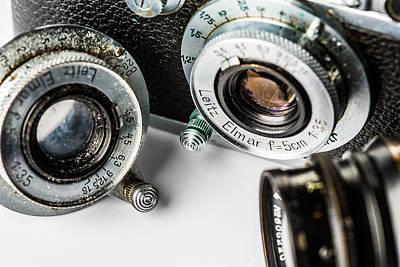Photograph - Leica IIia Rangefinder by SR Green