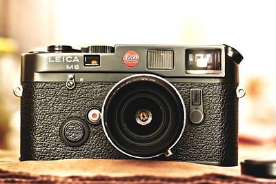 Rangefinder Photograph - Leica M6  by Hsin Liu