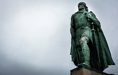 Photograph - Leif Erikson by Andrew Matwijec