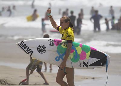 Photograph - Leila Hurst Surfer by Waterdancer