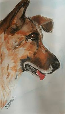 Painting - Leila  by Susan Snow Voidets