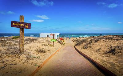 Photograph - Leisure Beach by Gary Gillette