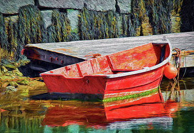 Fishing Boats Photograph - Leisurely Day by Marcia Colelli