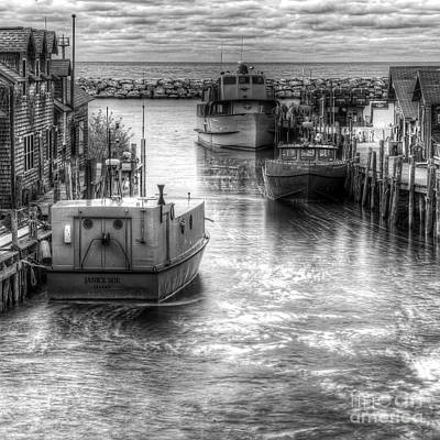 Leland Boats Art Print by Twenty Two North Photography