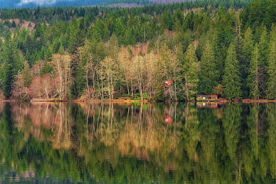 Photograph - Leland Lake by Thomas Hall