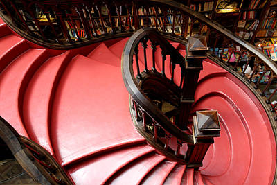 Photograph - Lello Bookstore 3 by Andrew Fare