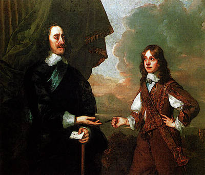 Digital Art - Lely Sir Peter Charles I An The Duke Of York by Sir Peter Lely