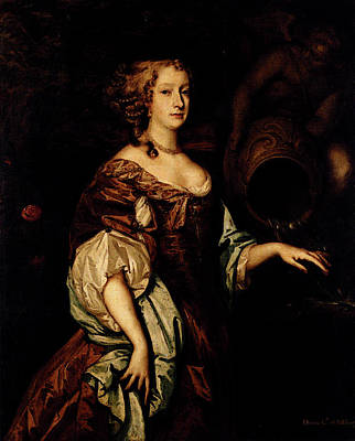 Digital Art - Lely Sir Peter Portrait Of Diana Countess Of Ailesbury by Sir Peter Lely