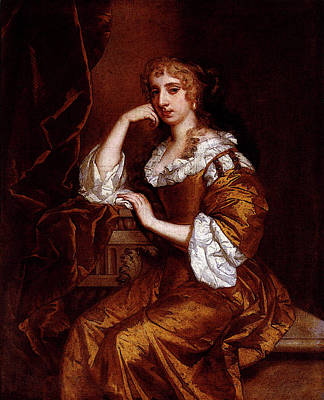 Digital Art - Lely Sir Peter Portrait Of Mrs Charles Bertie by Sir Peter Lely