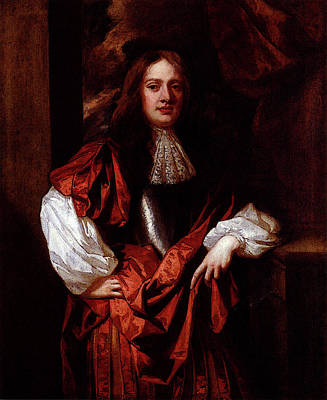 Digital Art - Lely Sir Peter Portrait Of The Hon Charles Bertie Of Uffington by Sir Peter Lely