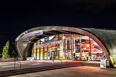 Lemay Car Museum - Night 1 Art Print